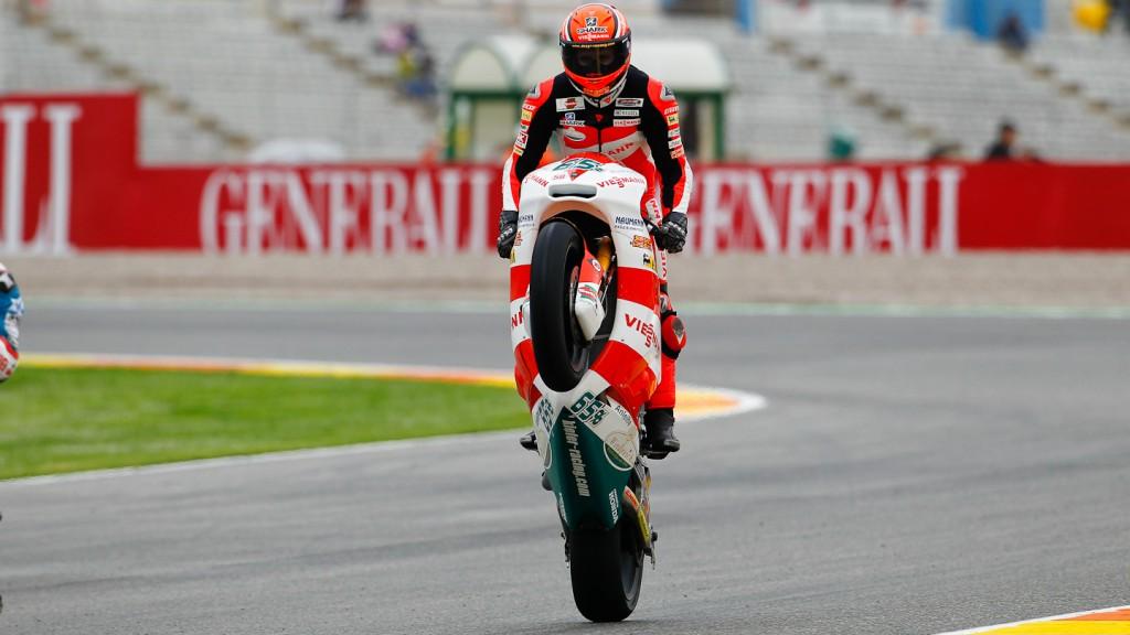 Stefan Bradl, Viessmann Kiefer Racing, Valencia FP2