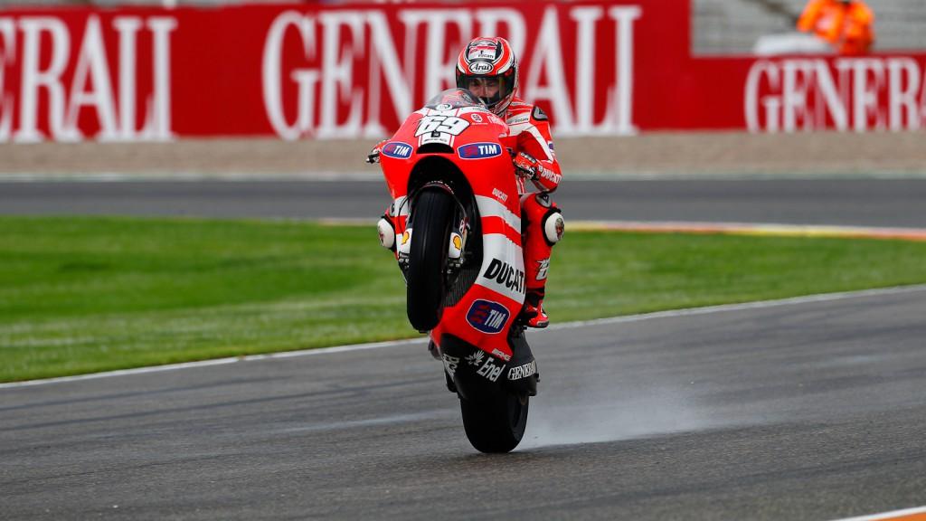 Nicky Hayden, Ducati Team, Valencia FP2