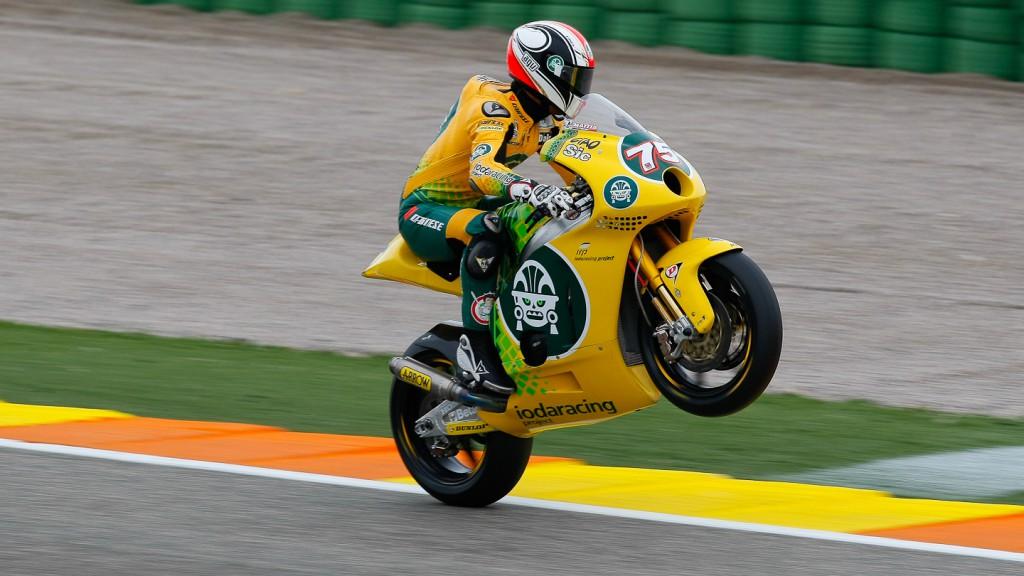 Mattia Pasini, Ioda Racing Project, Valencia FP2