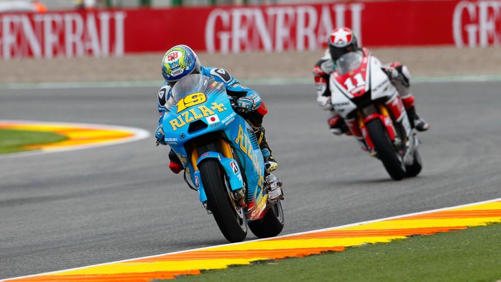 Alvaro Bautista, Rizla Suzuki MotoGP, Valencia FP2