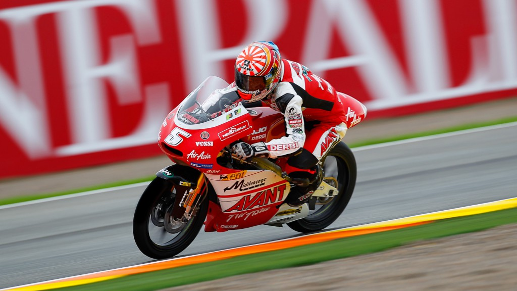 Johann Zarco, Avant-AirAsia-Ajo, Valencia FP3