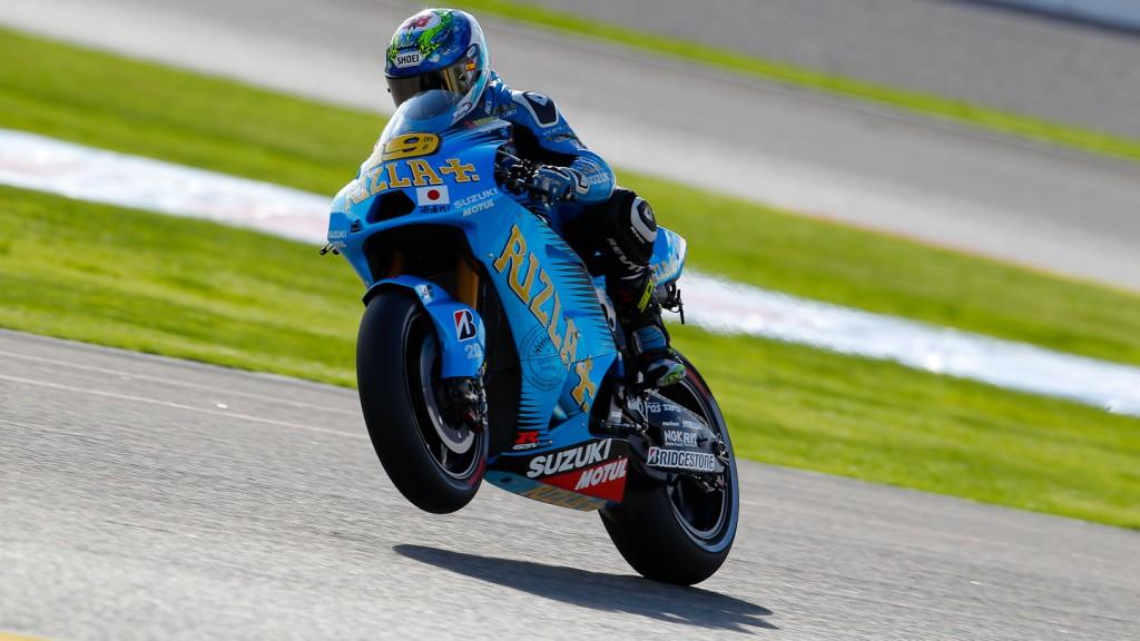 Alvaro Bautista, Rizla Suzuki MotoGP, Valencia QP