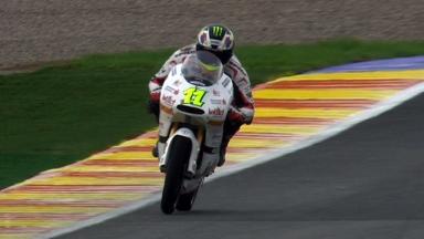 Valencia 2011 - 125cc - QP - Sandro Cortese - Crash
