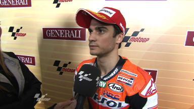 Valencia 2011 - MotoGP - QP - Interview - Dani Pedrosa