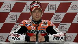 Valencia 2011 - MotoGP - QP - Interview - Casey Stoner