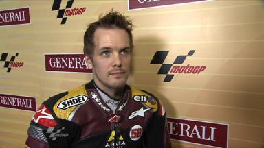 Kallio on first Moto2 front row