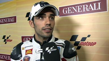 Pirro dedicates pole to Simoncelli