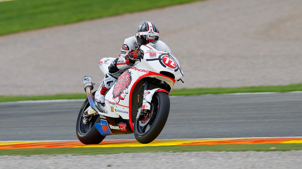 Yuki Takahashi, Gresini Racing Moto2, Valencia QP