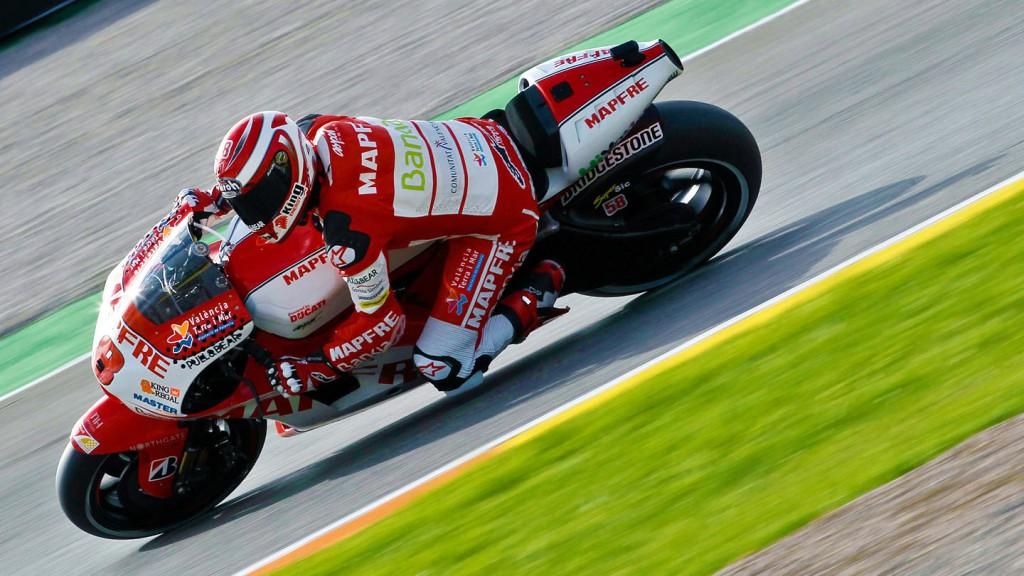 Hector Barbera, Mapfre Aspar Team MotoGP, Valencia QP