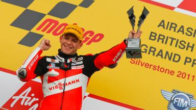 2011 Moto2 World Champion Stefan Bradl