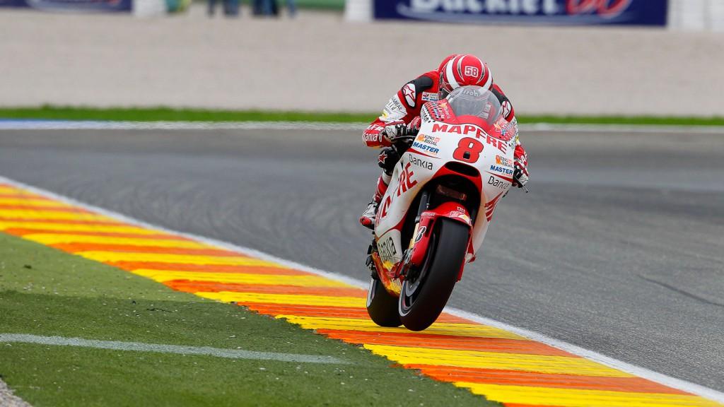 Hector Barbera, Mapfre Aspar Team MotoGP, Valencia RAC
