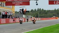 Ben Spies, Casey Stoner, Yamaha Factory Racing, Repsol Honda Team, Valencia RAC
