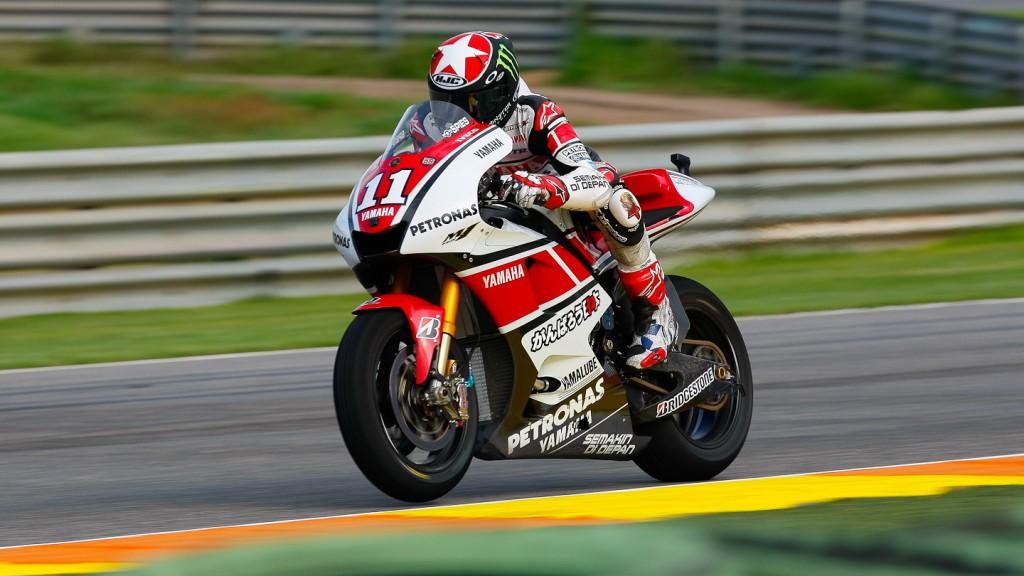 Ben Spies, Yamaha Factory Racing, Valencia RAC
