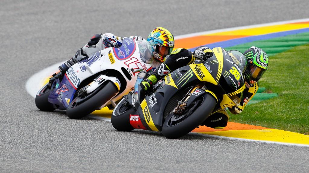 Cal Crutchlow, Monster Yamaha Tech 3, Valencia RAC