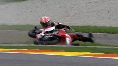 Valencia 2011 - 125cc - Race - Action - Johan Zarco - Crash