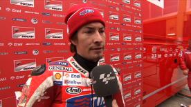 Hayden frustrated after Valencia crash