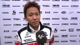 Valencia 2011 - MotoGP - Race - Interview - Katsuyuki Nakasuga