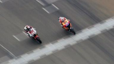 Valencia 2011 - MotoGP - Race - Action - Stoner and Spies