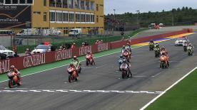 Casey Stoner closed the 800cc era with his tenth victory of the season by a margin of one hundredth of a second over Ben Spies, with Dovizioso claiming the third podium spot and third in the Championship.
