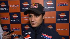 Pedrosa reviews Valencia result