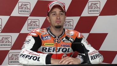 Valencia 2011 - MotoGP - Race - Interview - Andrea Dovizioso