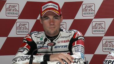 Valencia 2011 - MotoGP - Race - Interview - Ben Spies