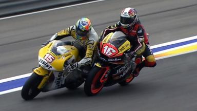 Valencia 2011 - Moto2 - Race - Action - Jules Cluzel - Crash