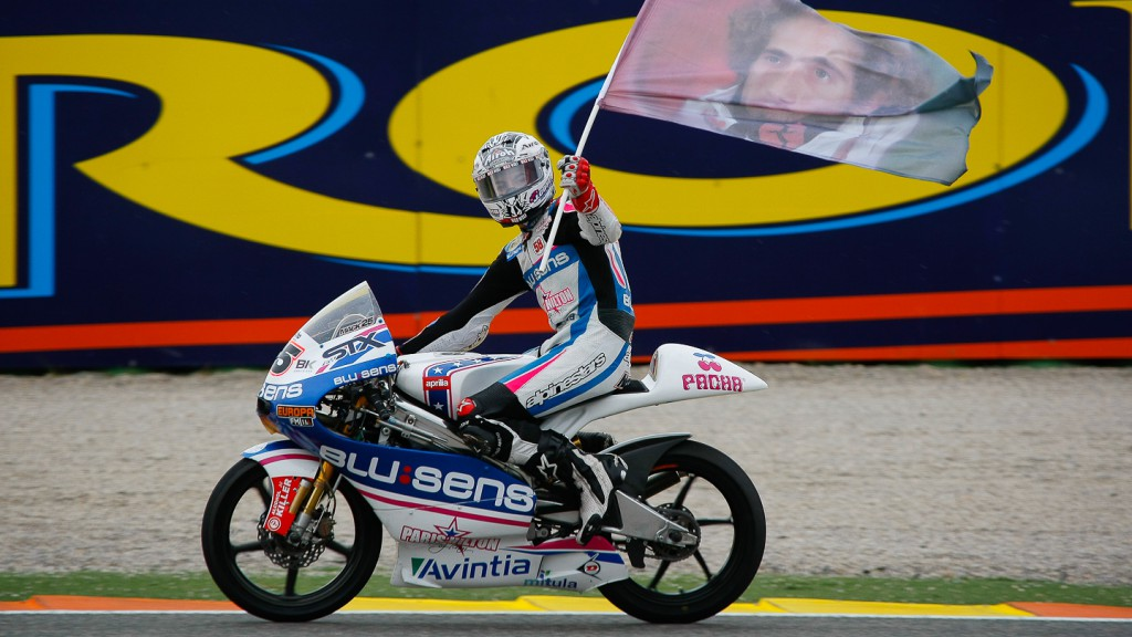 Maverick Viñales, Blusens by Paris Hilton Racing, Valencia RAC