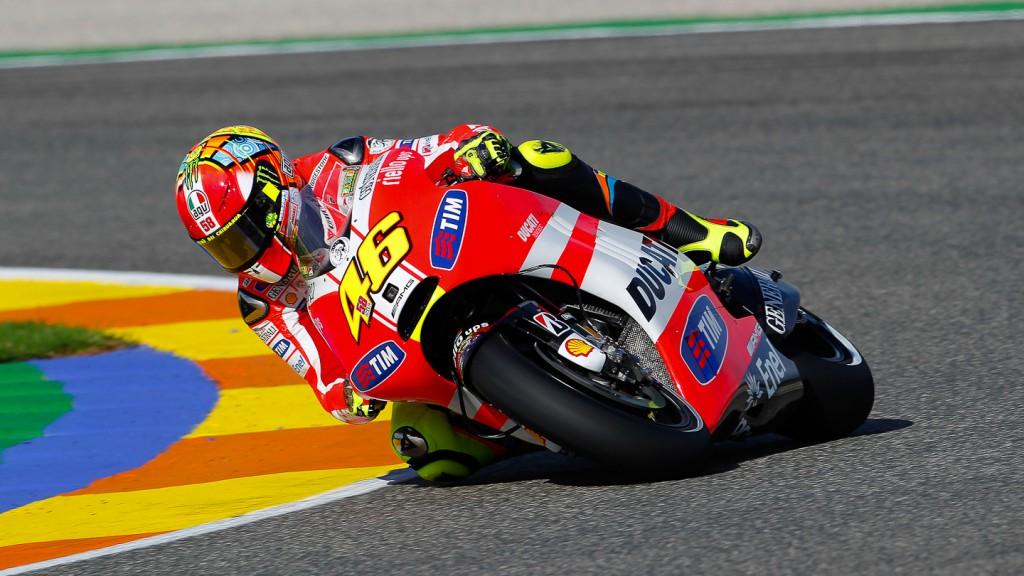 Valentino Rossi, Ducati Team, Valencia
