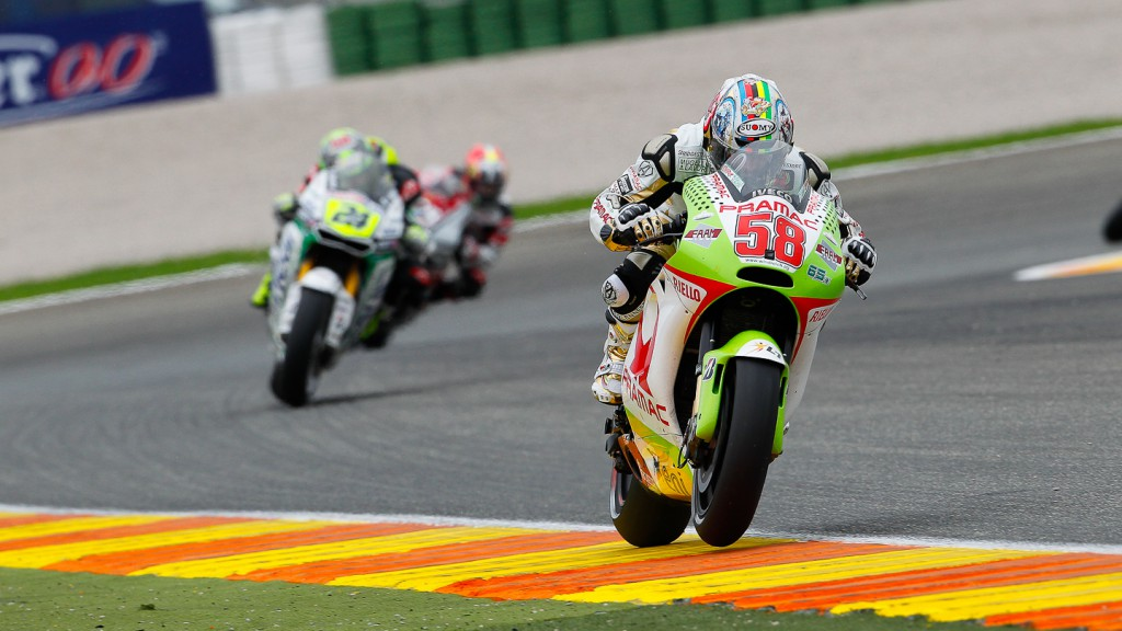 Loris Capirossi, Pramac Racing Team, Valencia RAC