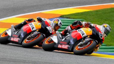 Andrea Dovizioso, Dani Pedrosa, Repsol Honda Team, Valencia RAC