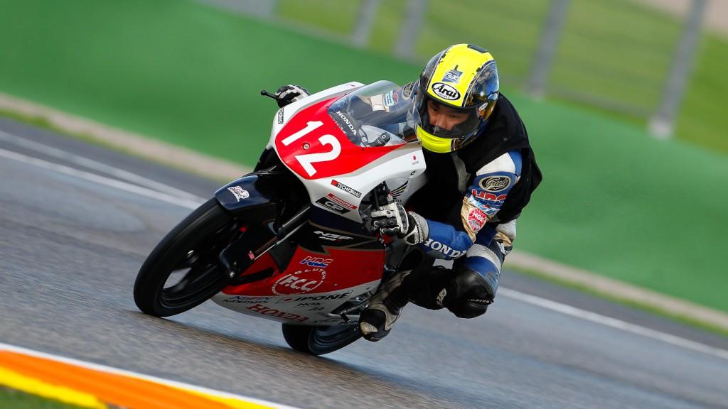 Kenta Fuji, Valencia Test