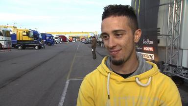 2011 - MotoGP - Valencia Test - Interview - Andrea Dovizioso