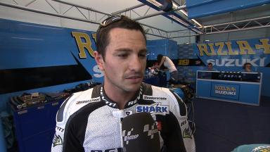2011 - MotoGP - Valencia Test - Interview - Randy De Puniet
