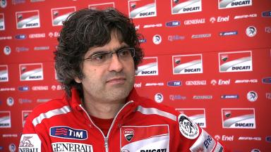 Preziosi on Ducati GP12 chassis development