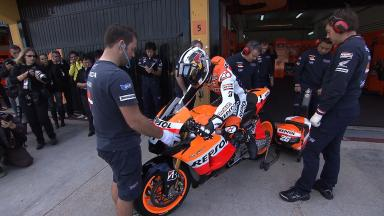 2011 MotoGP Valencia Test Day 1 Highlights