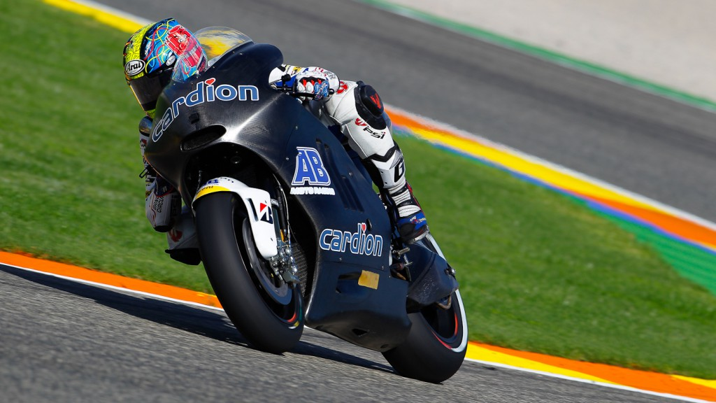 Karel Abraham, Valencia Test