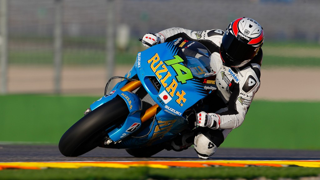 Randy de Puniet, Valencia Test