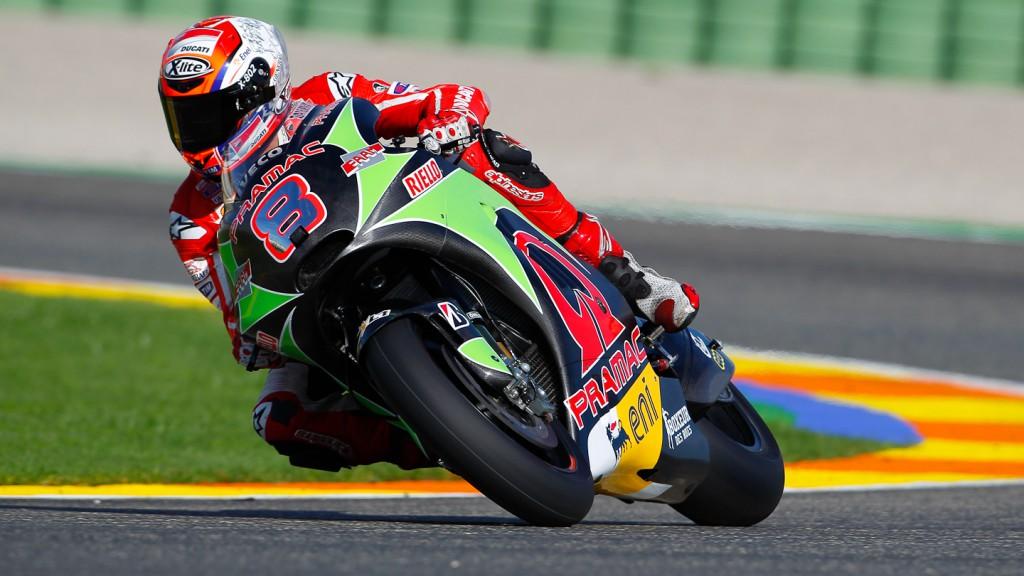 Hector Barbera, Valencia Test