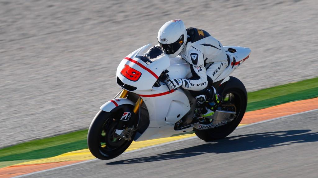 Alvaro Bautista, Valencia Test