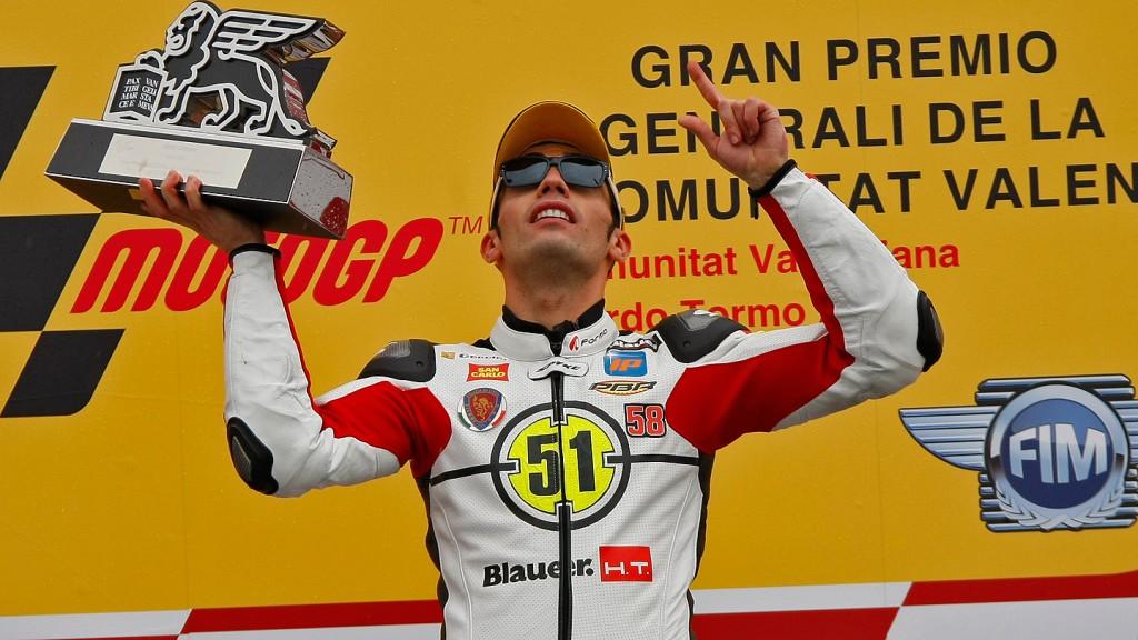 Michele Pirro, Gresini Racing Moto2, Valencia RAC