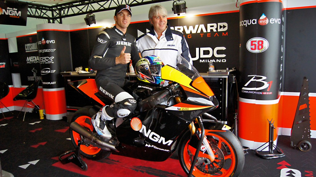 Alex de Angelis, Giovanni Cuzari, NGM Forward Racing