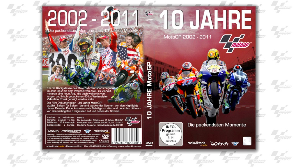 10 Jahre MotoGP DVD Program Germany