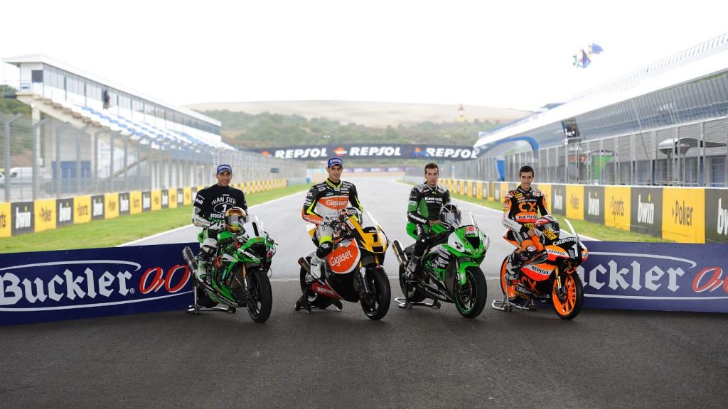 Ivan Silva, Jordi Torres, Adria Araujo, Alex Rins, CEV Jerez