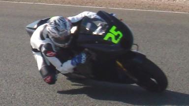 Maverick Viñales, BQR Moto2, Almeria Circuit