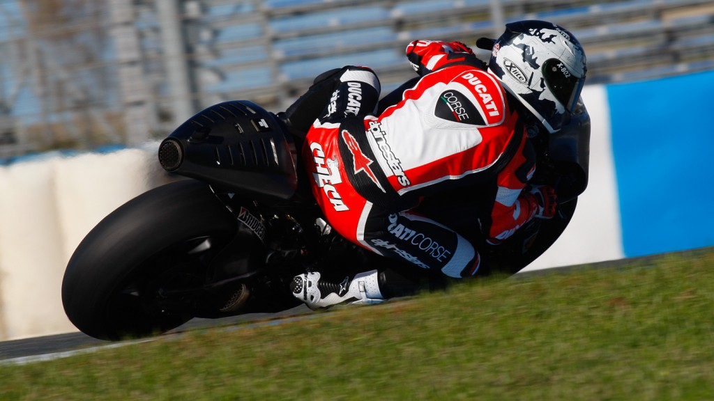 Carlos Checa, Ducati Test Team, Jerez MotoGP Test