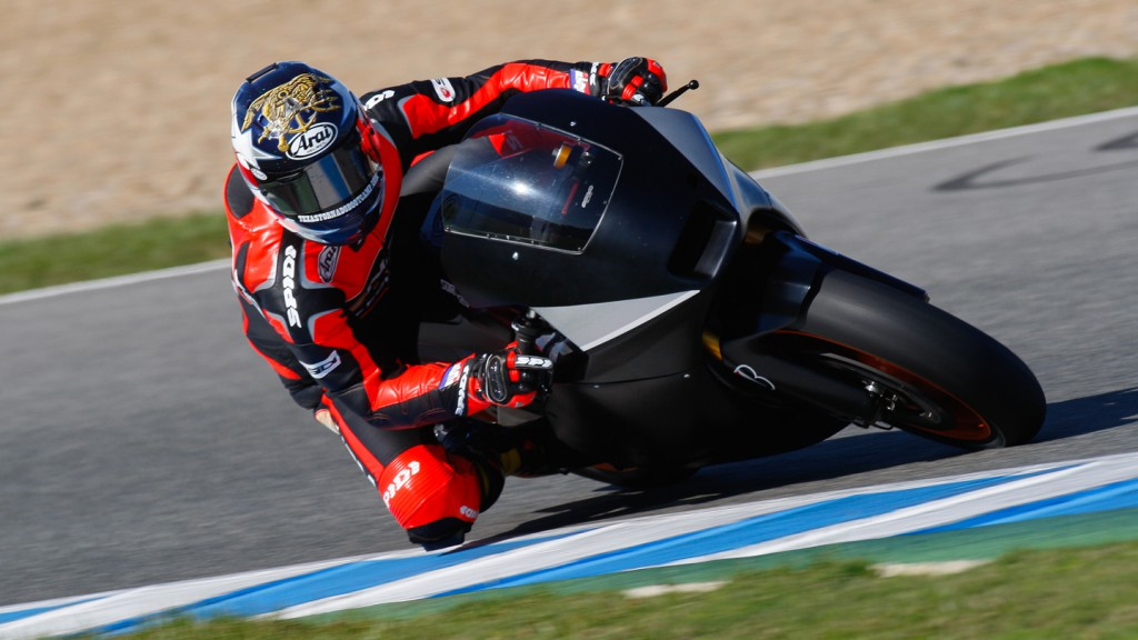 Colin Edwards, NGM Forward Racing, Jerez MotoGP Test