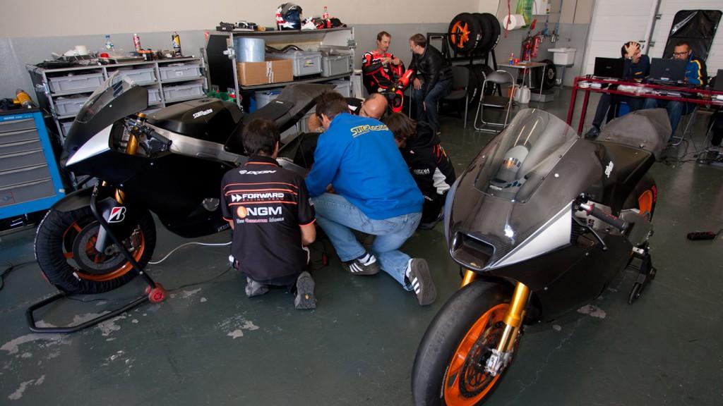Colin Edwards, NGM Forward Racing, Jerez MotoGP Test