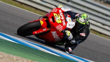 Toni Elias, Mapfre Aspar Team Moto2, Jerez Test