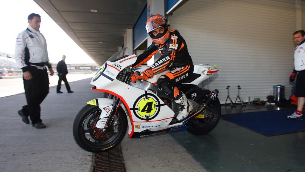 Gino Rea, Gresini Racing Moto2, Jerez Moto2 Test